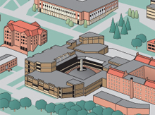 Campus Map inset