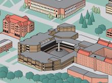 Campus Map inset