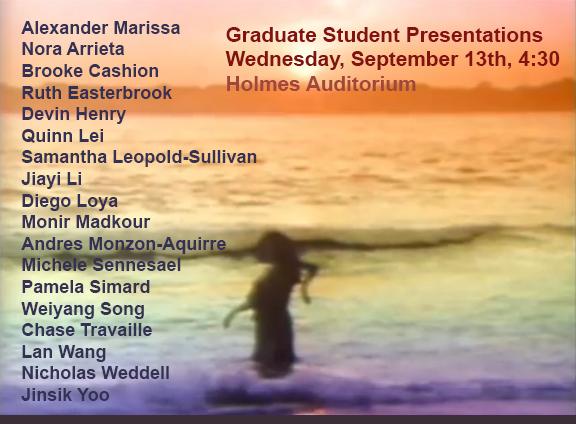 Graduate Presentations